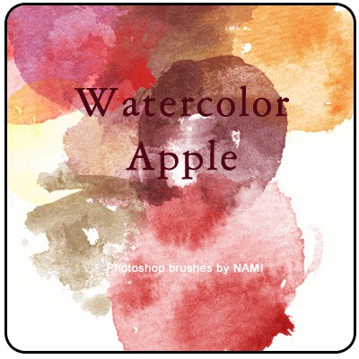 Photoshop brushes watercolor