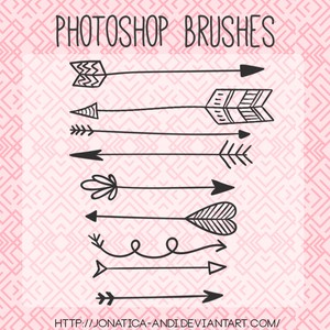 9 Arrow Brushes