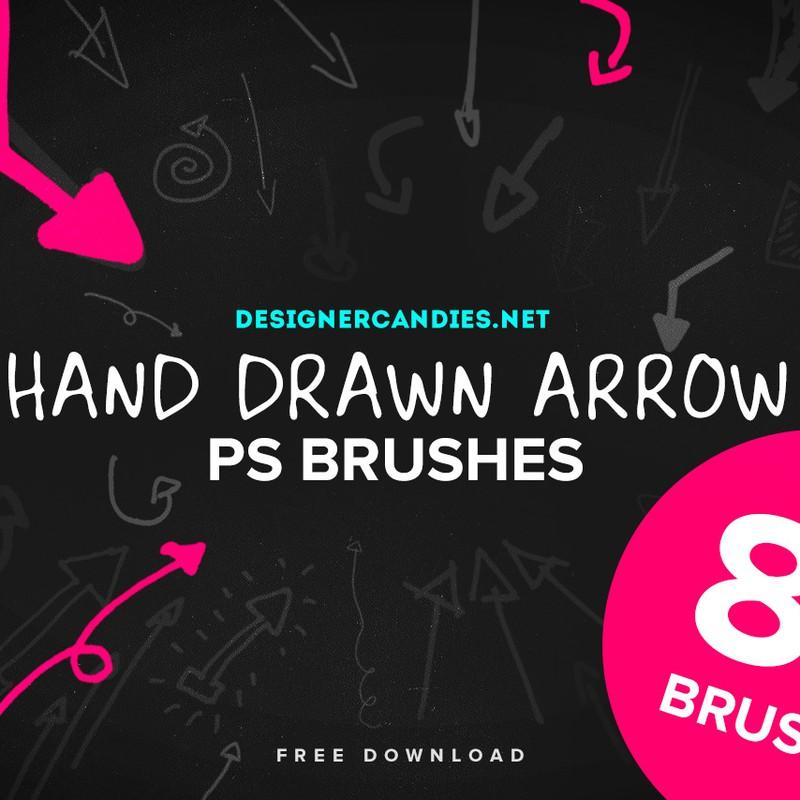 Photoshop brushes arrows, symbol