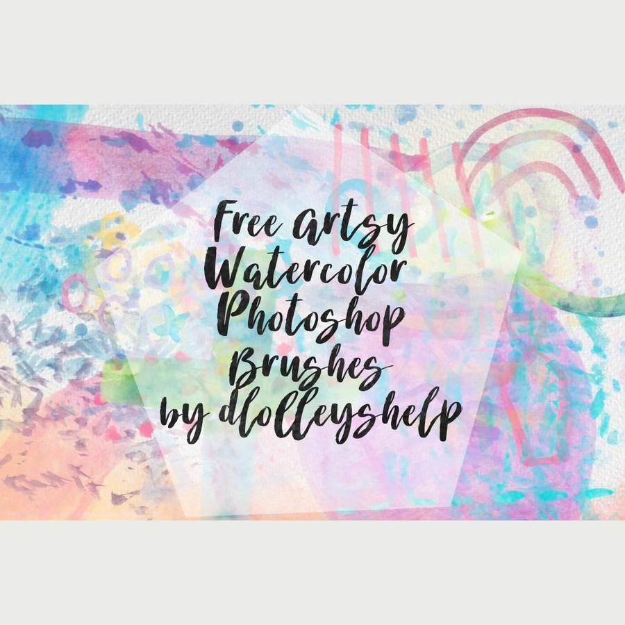 Photoshop brushes watercolor, brush