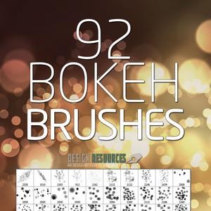 Bokeh PS Brushes Free Pack