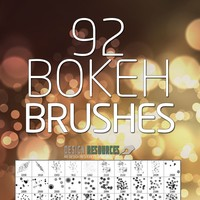 Bokeh PS Brushes Free Pack