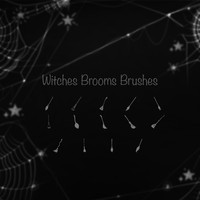 Witches Brooms Brushes