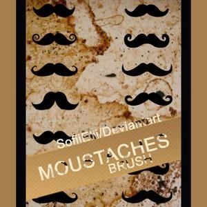 Brush Moustache