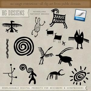 Petroglyphs PS Brushes