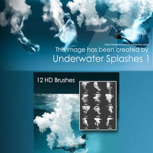 Underwater Brushes
