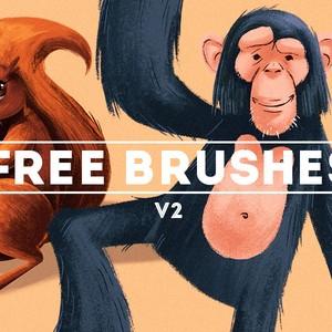 Free Stroke Brushes