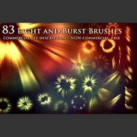Light and Burst Brushes