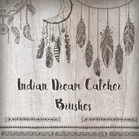 Indian Dream Catcher Brushes