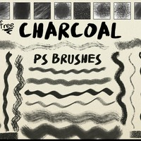 Free Charcoal Brushes