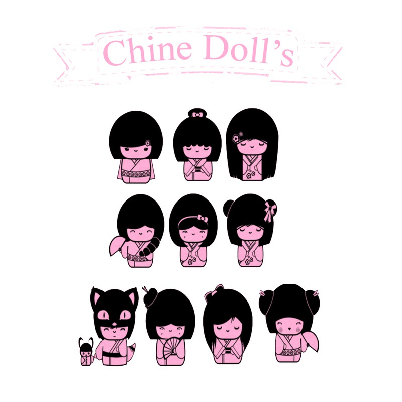 Photoshop brushes china dolls