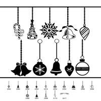 14 Christmas Ornament Brushes