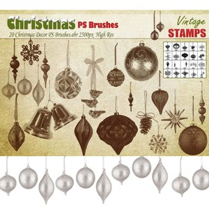 20 Christmas Decor Brushes