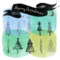 Christmas Tree Free Brushes