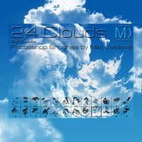 24 Free Clouds PS Brushes