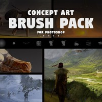 106 Concept Art Brushes