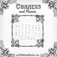 Frames and Corners Brushes
