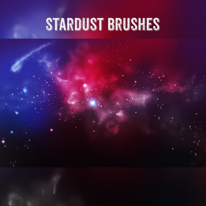 Photoshop brushes cosmos, night, sky, stardust