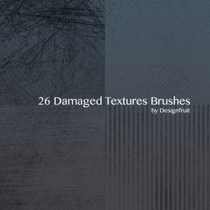 Damaged Textures Brushes