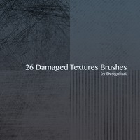 Damaged Textures Brushes