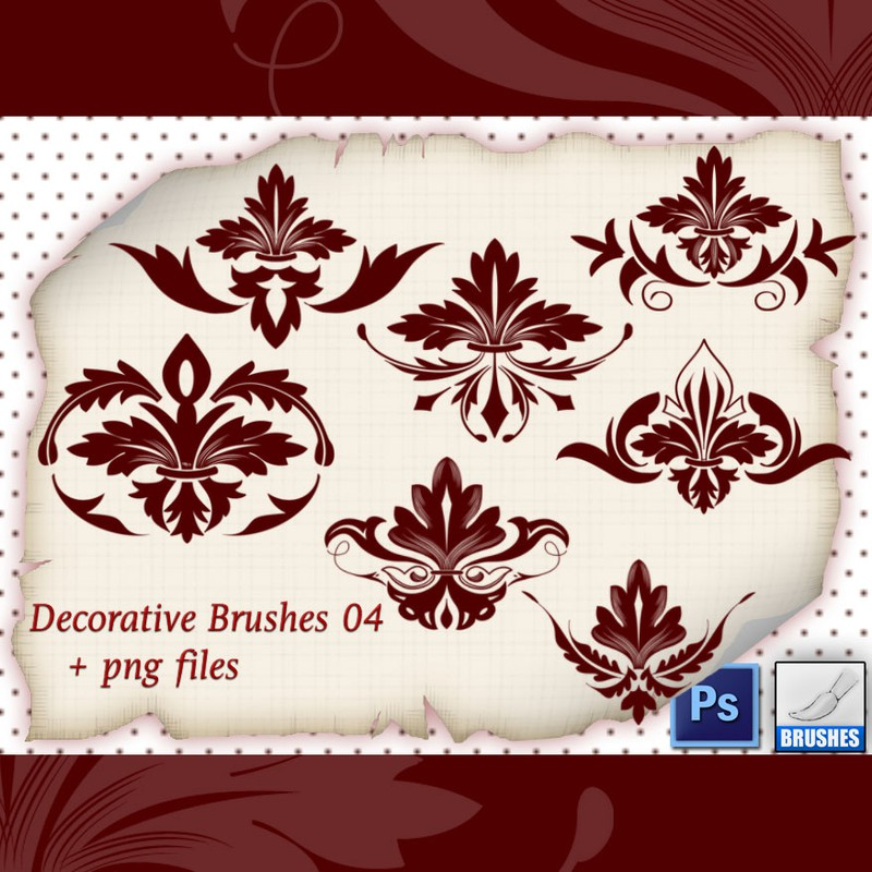 Photoshop brushes ornament,elements,decorative, ornamental