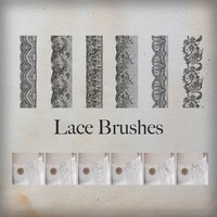 Lace Ornament Brushes