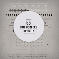 Line Borders Brushes