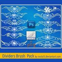 Dividers Brush Pack