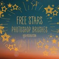 Free Photoshop Star Brushes by FixThePhoto
