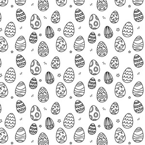 7 Easter Eggs Brushes