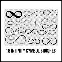 18 Infinity Brushes