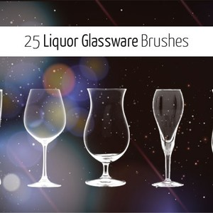 25 Glassware Brushes
