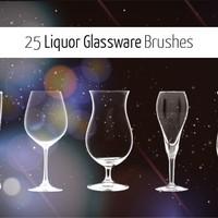 25 Glassware Brushes