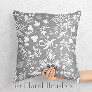 10 Floral Brushes