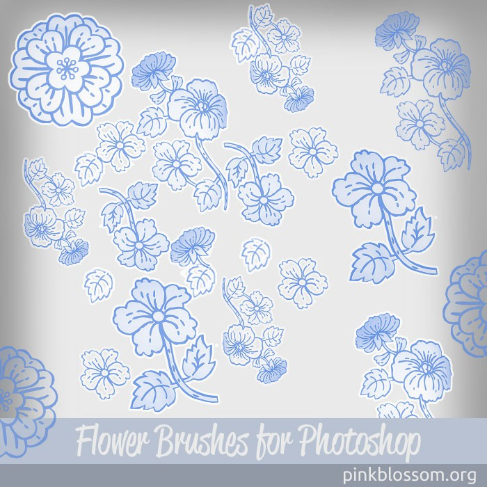 Photoshop brushes floral