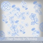 Flower Brushes for Photoshop