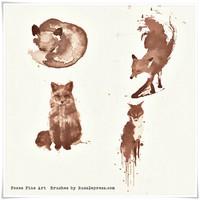 Fox Fine Art Photosop Brushes