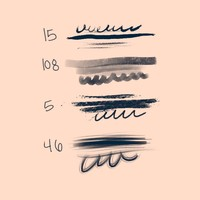 Stroke Photoshop Brushes