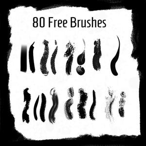 80 Free Brushes