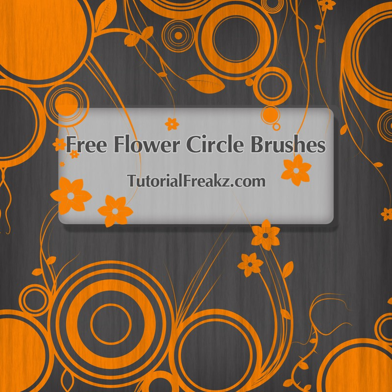 Photoshop brushes flower,circle