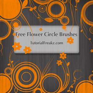 زهرة الدوار Flower Circle Brushes