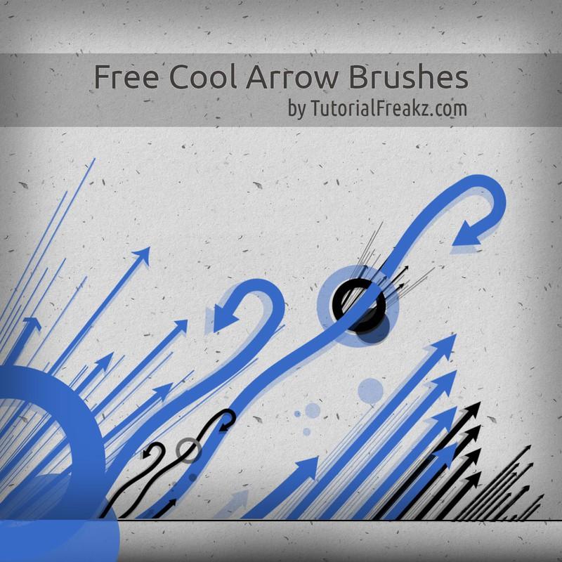 Photoshop brushes arrows