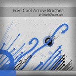 Free Cool Arrow Brushes