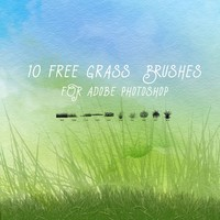 10 Free Grass Brushes