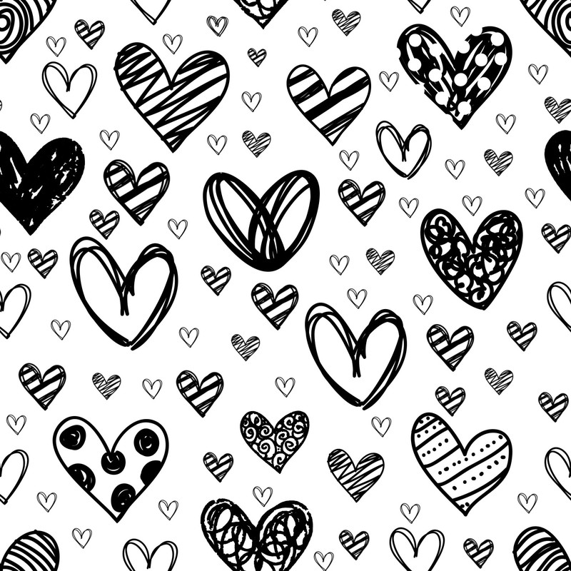 Photoshop brushes heart, love
