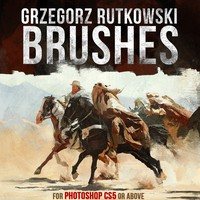 26 Paint Brushes by Rutkowski
