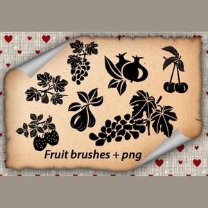 Fruits Brushes
