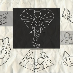 Animals Outline Brushes