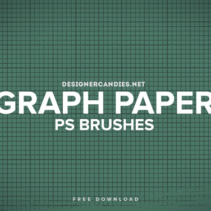 Photoshop brushes grid, lines, paper