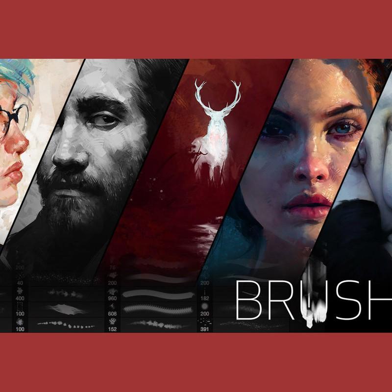 Photoshop brushes grunge, stroke